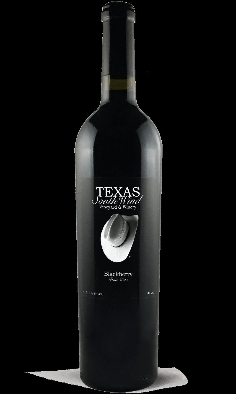 Blackberry Fruit Wine Bottle