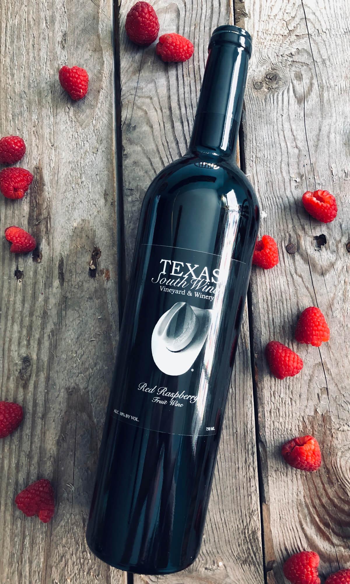 Red Raspberry Fruit Wine