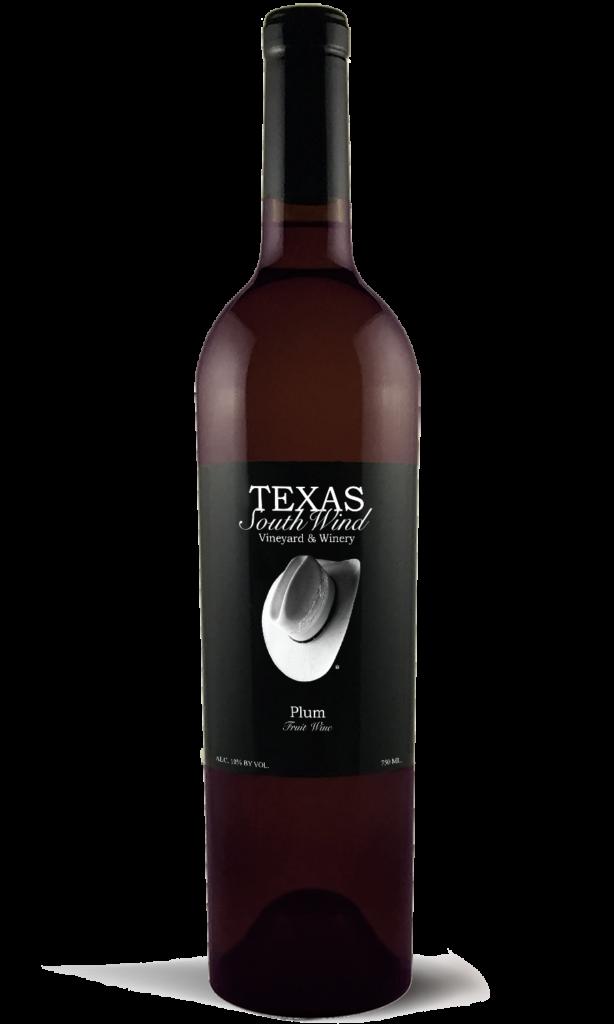 Plum Fruit Wine - Texas SouthWind Vineyard and Winery